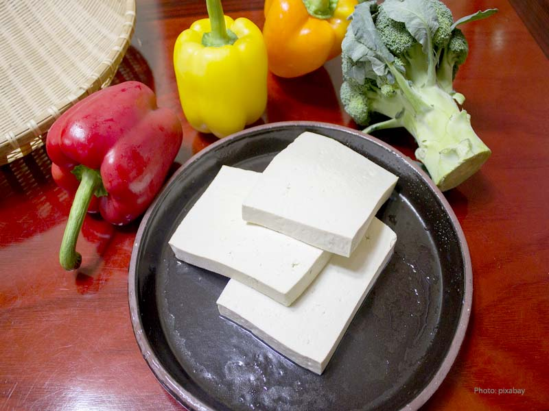 Tofu - popular product from soybeans